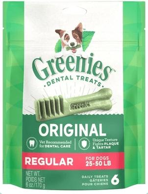 Greenies Canine Treats Regular