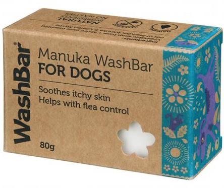 WashBar Manuka Soap Bar for Dogs