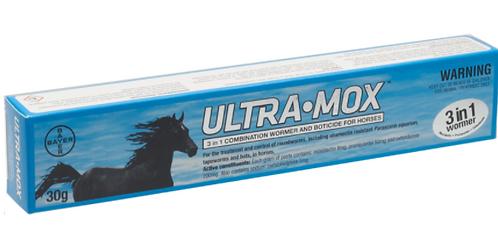 UltraMox 3 in 1 Horse Wormer