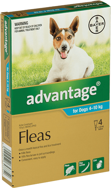 Advantage® for Medium Dogs 4 - 10kg