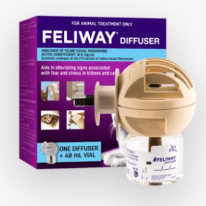 Feliway Diffuser  and Vial