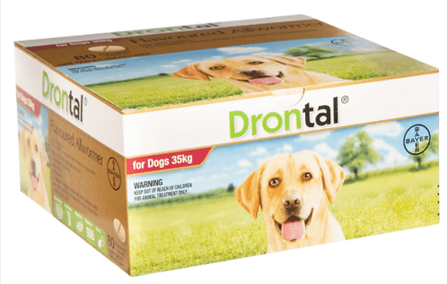 Drontal all wormer for dogs 20kg Plus
