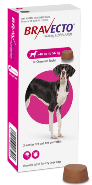Bravecto Chewable For Extra Large Dogs  40kg to 56kg