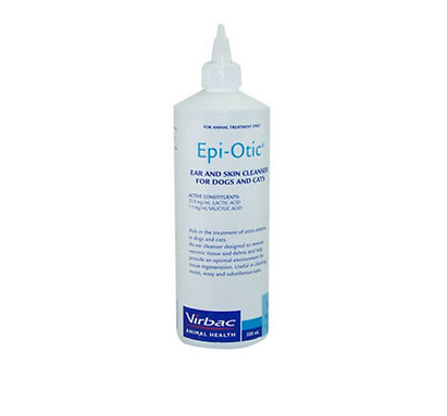 Virbac Epiotic Ear and Skin Cleanser for Dogs and Cats