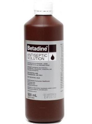 Betadine Solution 500ml