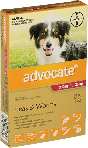 Advocate® For Large Dogs 10 - 25kg