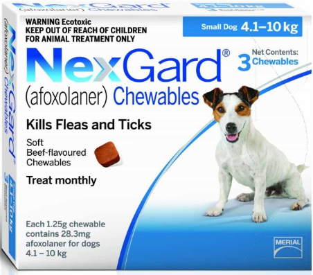 NexGard® For Dogs Chewable Range