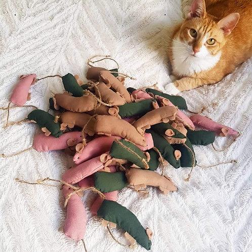 Littlebean Handmade Toy Mice