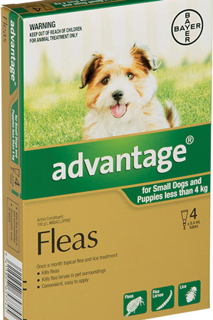 Advantage® for Small Dogs and Puppies