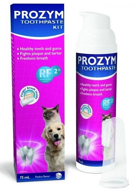 Prozym Toothpaste Kit with Finger Brush