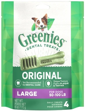 Greenies Canine Treats Large