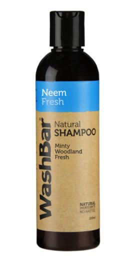 Wash Bar Neem Fresh Shampoo 250ml