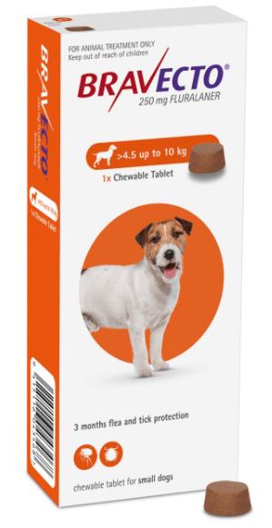 Bravecto® Dog  Chewable Range