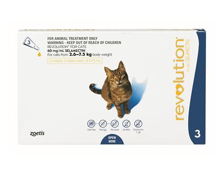 Revolution® for cats range