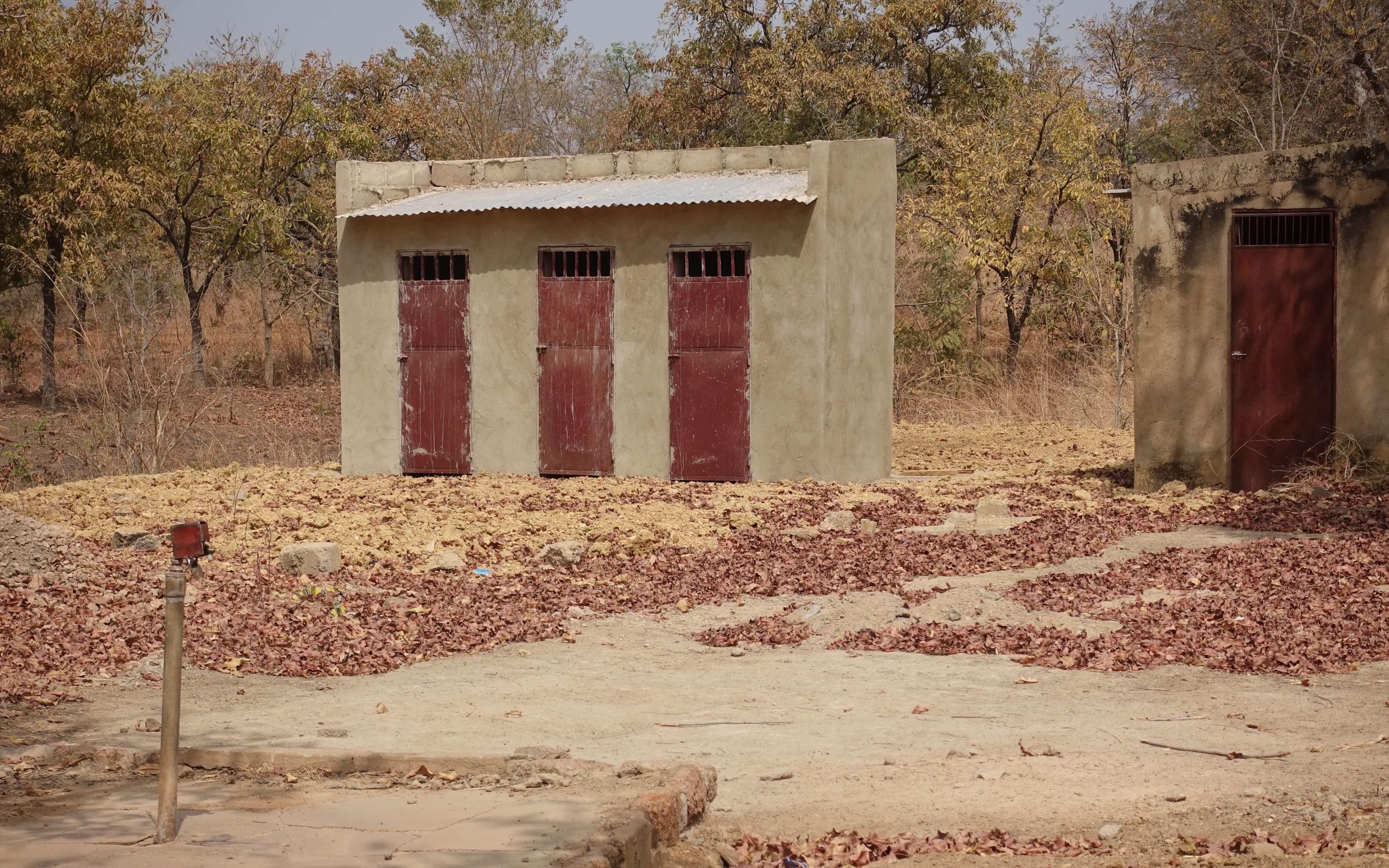 """nieuwe """"latrine"""""""