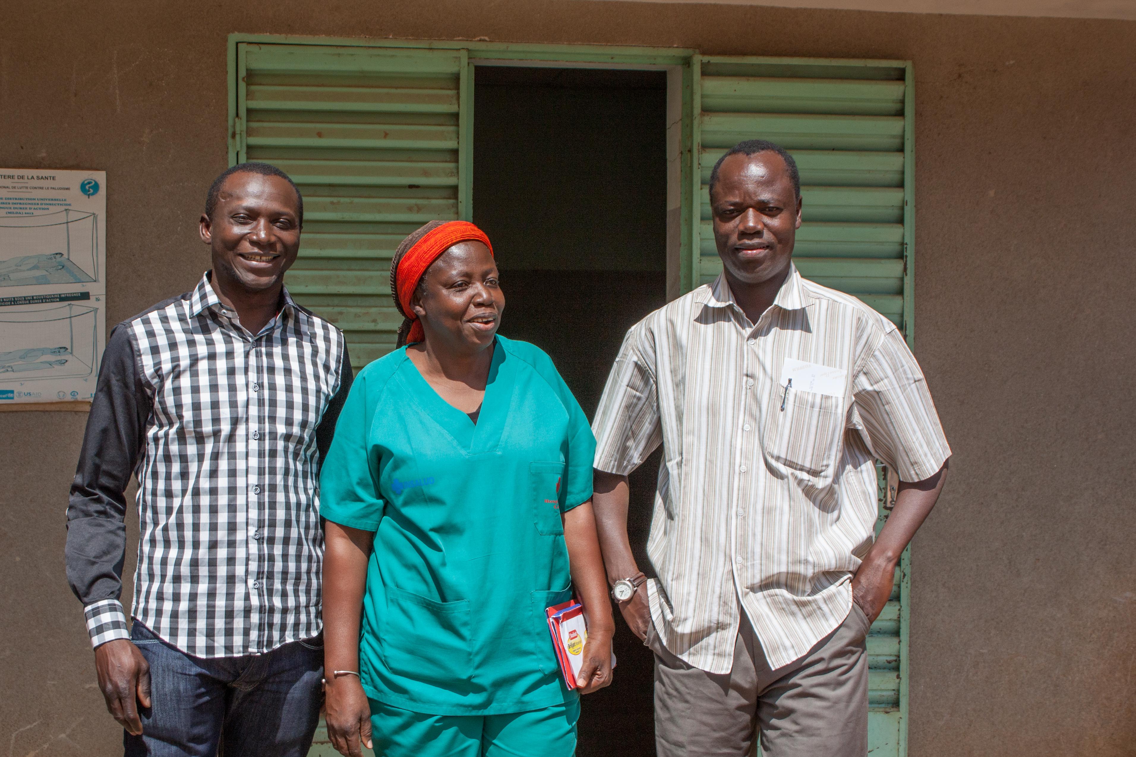 arts, verpleegkundige en directeur