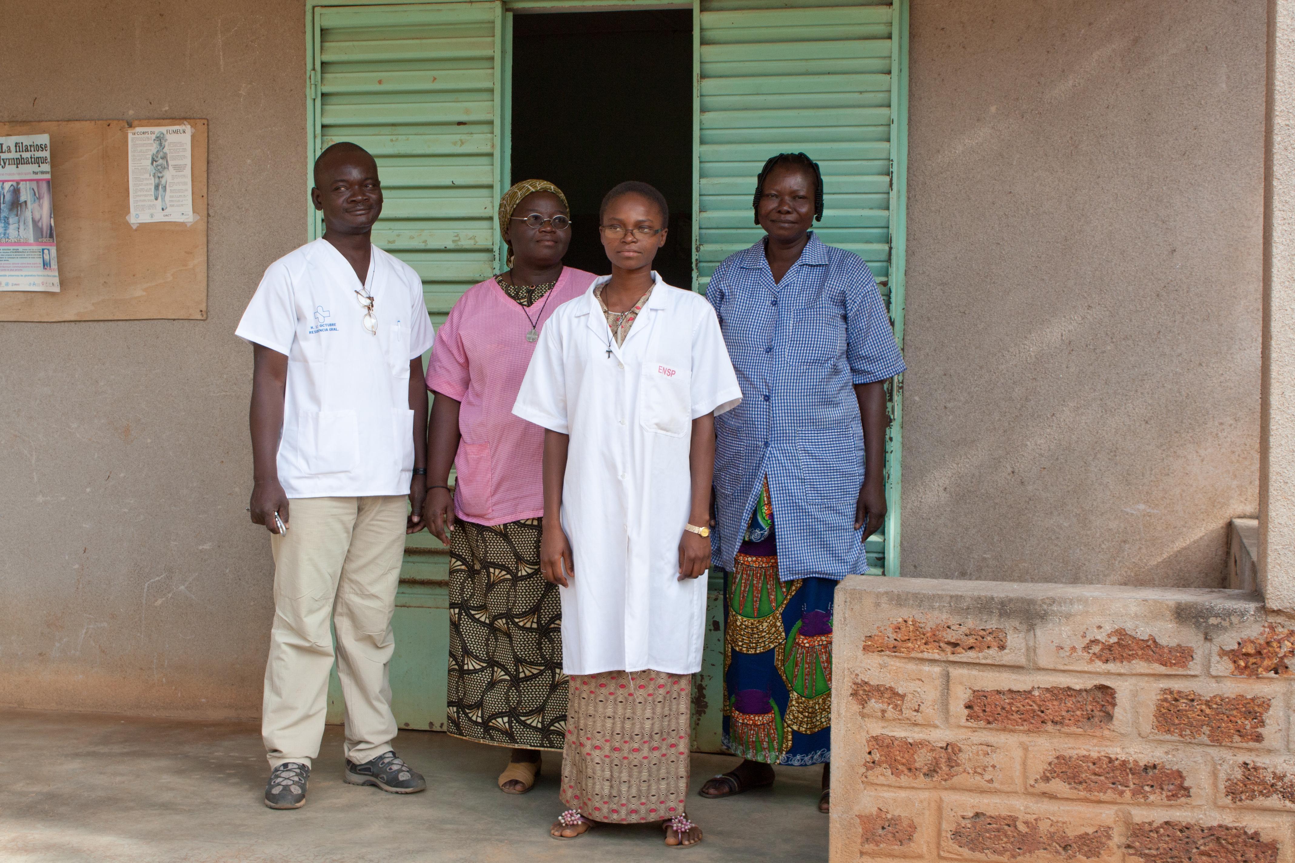 team van verpleegkundigen
