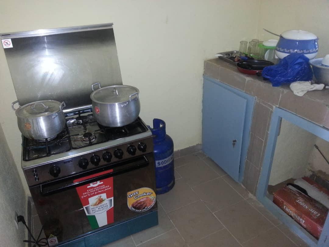 2018: de keuken is in gebruik