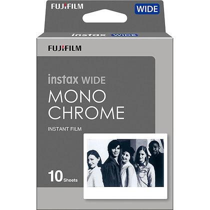 Película Instax Wide Monocromático x10 - Films de Prueba