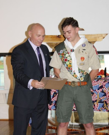 D.S. Eagle Ceremony