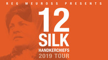 12 Silk Handkerchiefs - Reg Meuross 'live': Winter 1968. Three Hull trawlers sink. 58 men di