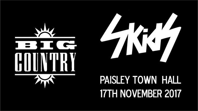 BIG COUNTRY & SKIDS UNITE! Paisley announcement