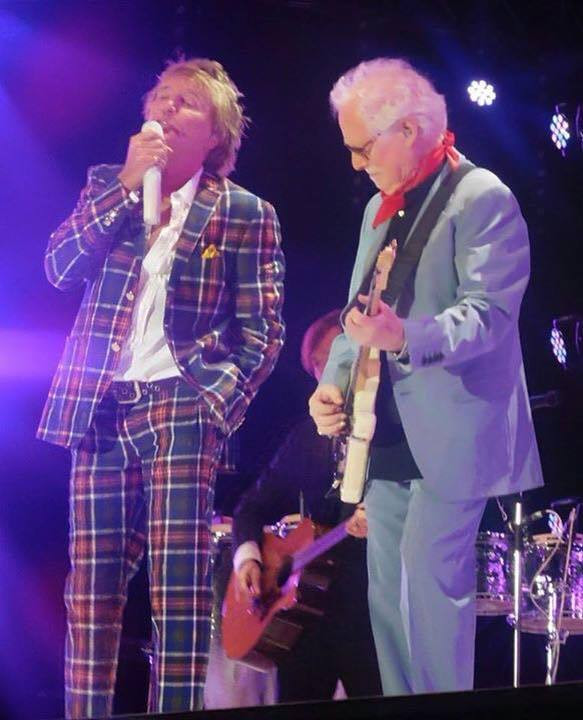Cregan & Co. perform the Rod Stewart songbook. March 'live' dates