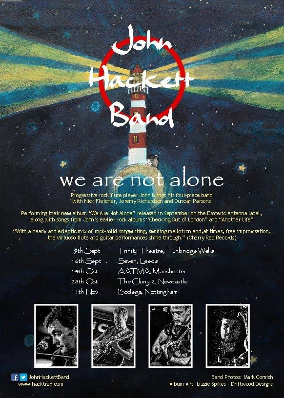 John Hackett Band - outstanding new album & selected UK dates