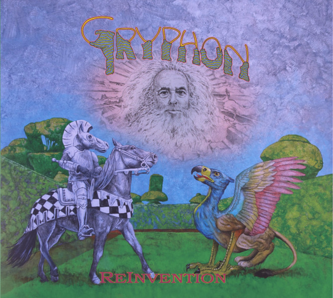 Gryphon. Album Number 6 - 41years later. Those crazy kids...