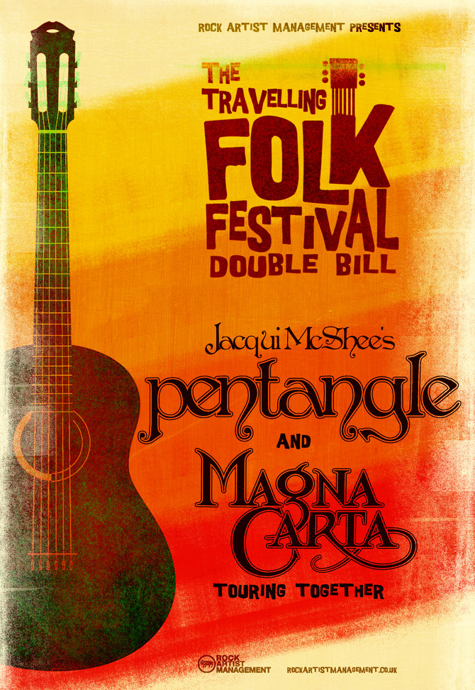 THE TRAVELLING FOLK FESTIVAL: Jacqui McShee's Pentangle & Magna Carta