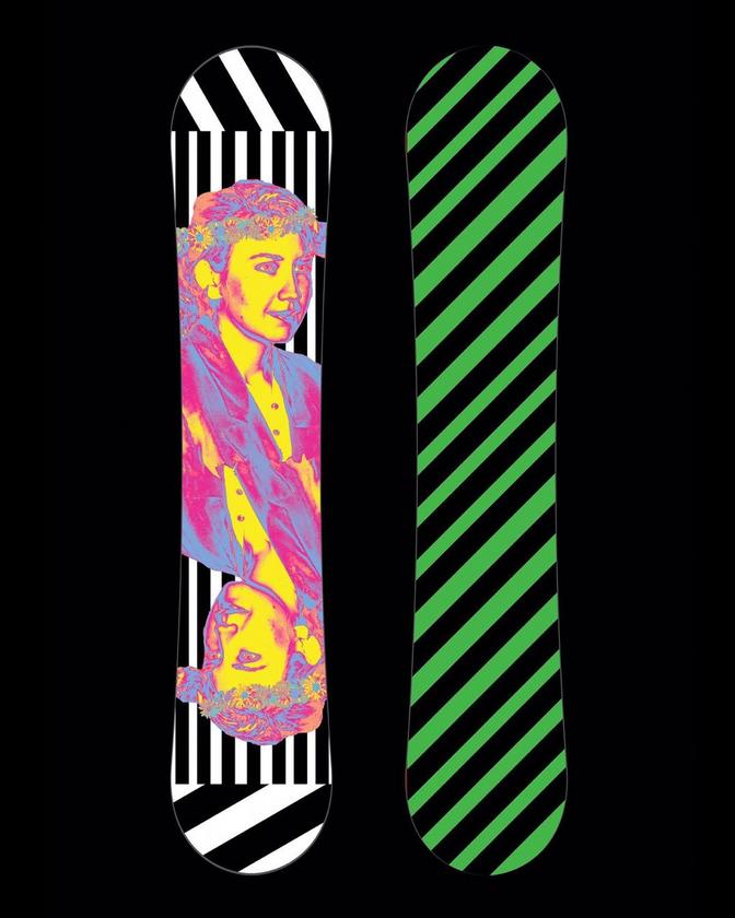 80's Snowboard Design