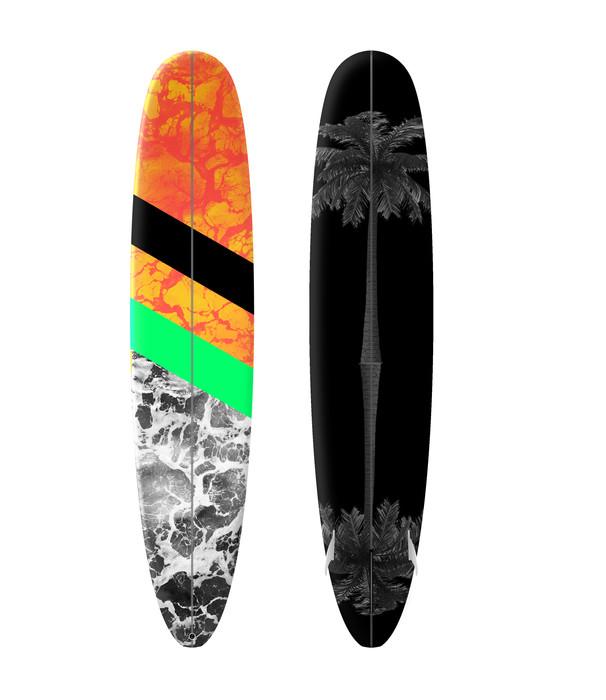 Fire + Water Surf Design
