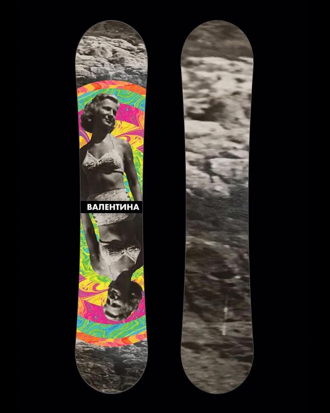 Valentina Snowboard Design