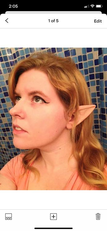 Medium elf ears