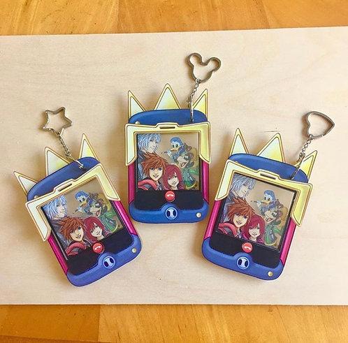 Kingdom hearts charm set