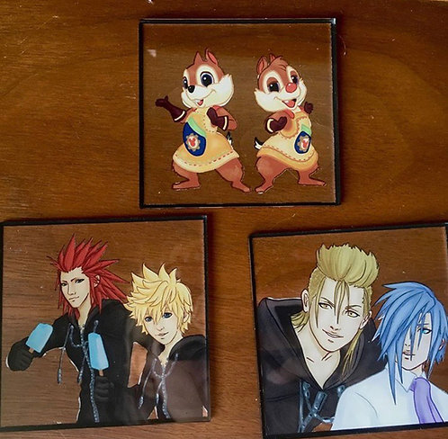 Kingdom hearts charm expansion pack