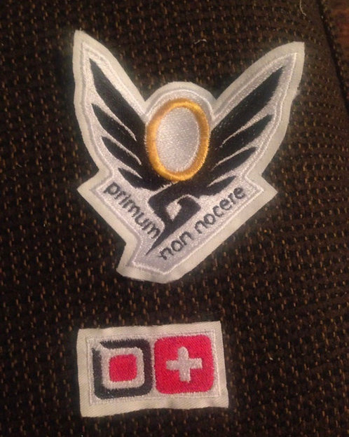 Mercy cosplay patch set