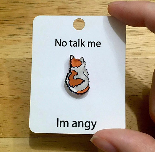 No talk him pin