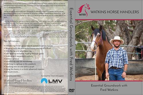 Fred Watkins 'Essential Groundwork' DVD.