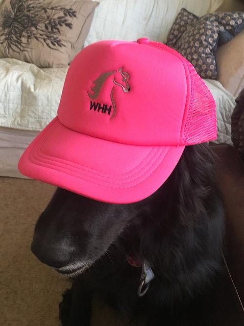 Watkins Pink Truckers Cap.