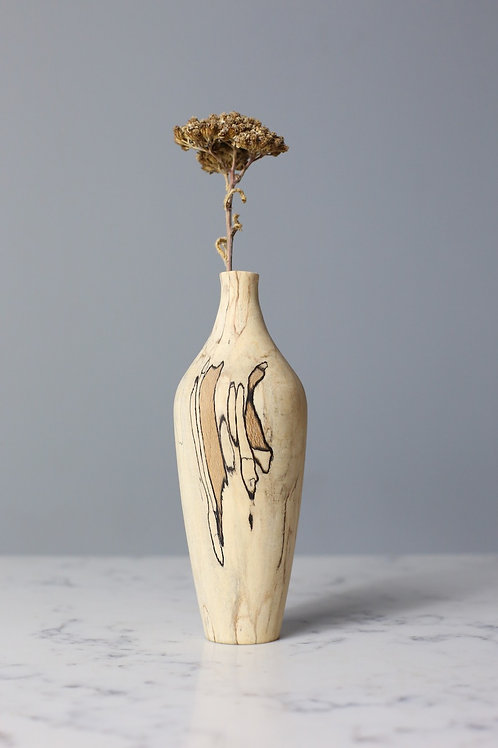Spalted Beech Dried Flower Vase #1