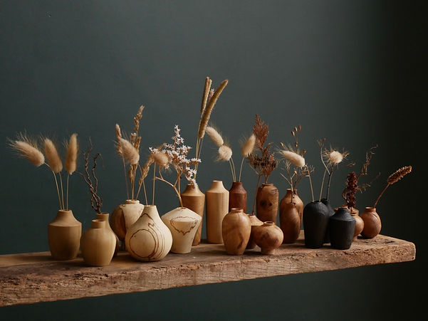 Ash & Plumb - Mini Dried Flower Bud Vase