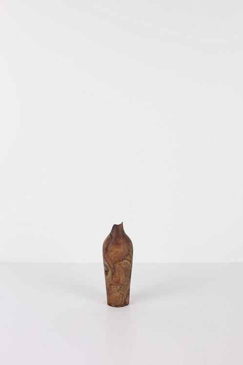 Spalted Elm Burr Dried Flower Vase #13