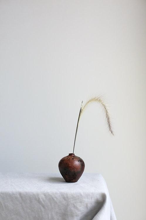 Elm Burr Dried Flower Vase #21