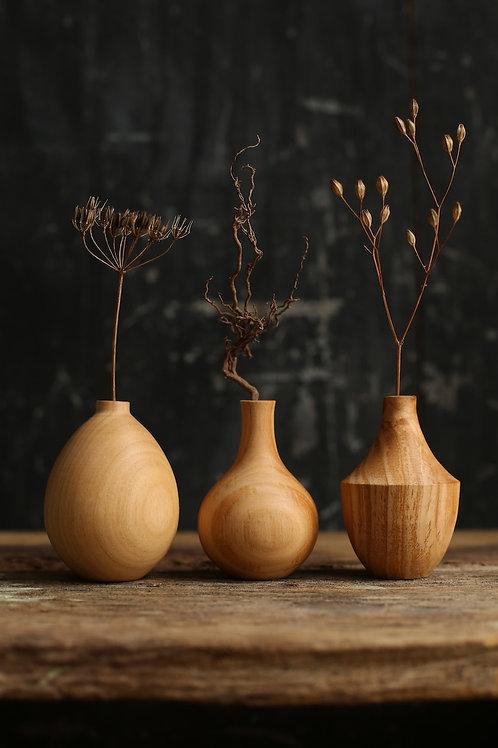 Cherry Mini Dried Flower Vase Set #2