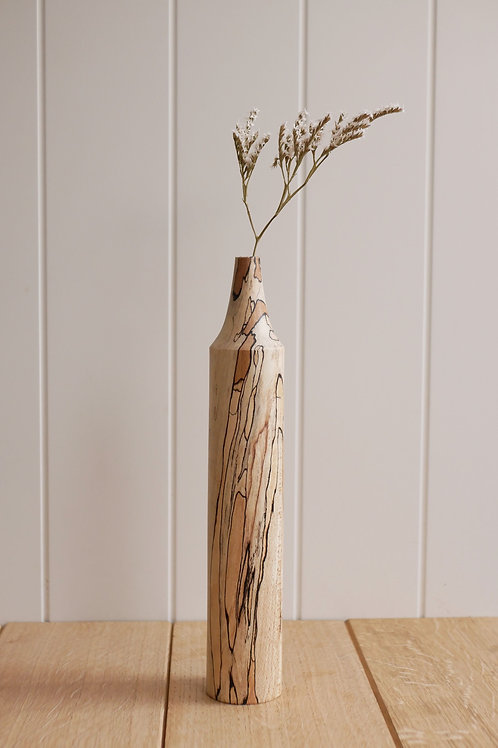 Spalted Beech Bud Vase #7