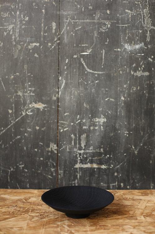 Ebonised Brushed Chestnut Moon Plate