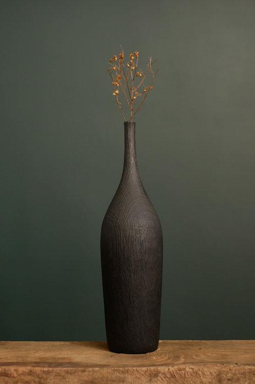 Charred Oak Bud Vase #4