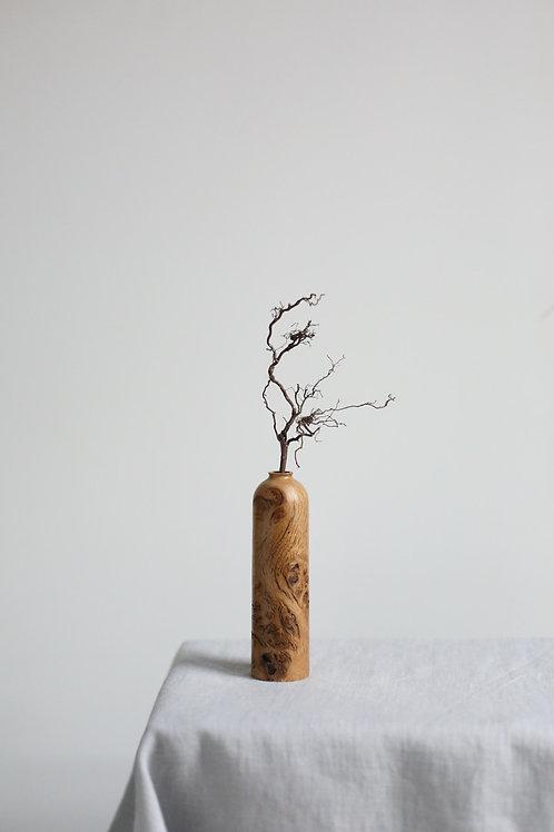 Oak Burr Dried Flower Vase #13