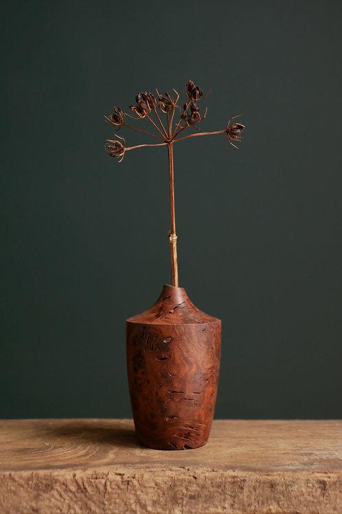Elm Burl Bud Vase #8